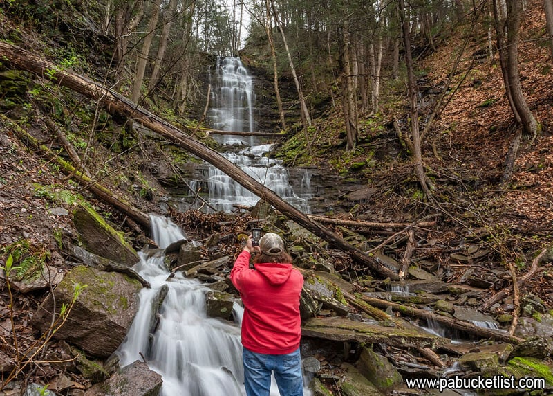 How To Find Chimney Hollow Falls In The Pine Creek Gorge