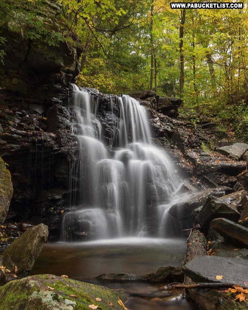 Big Run Falls, just up the hill from Sullivan Falls.