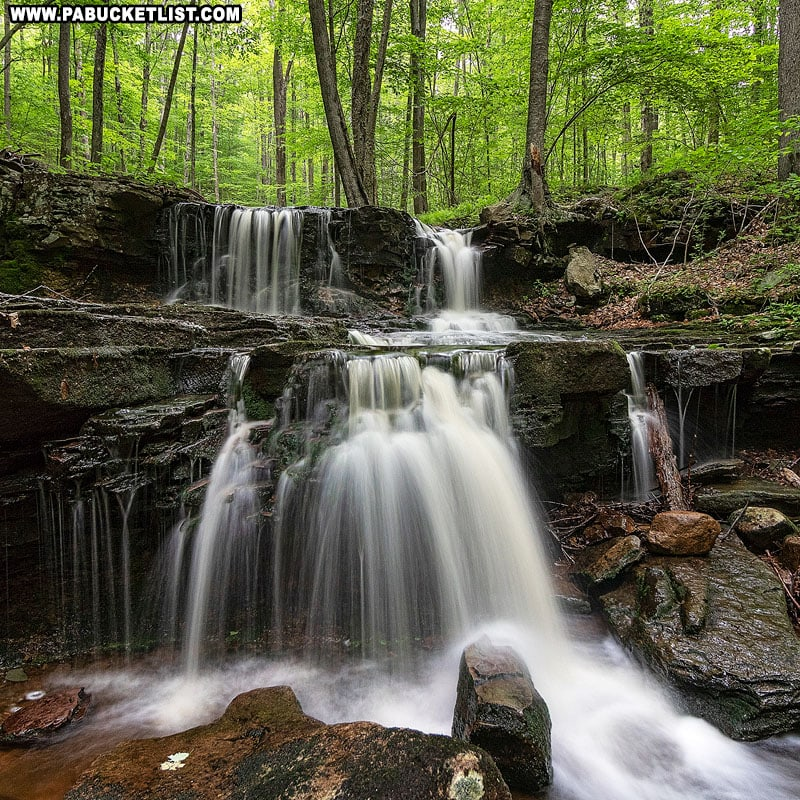 Third Falls on Dutters Run in the springtime.