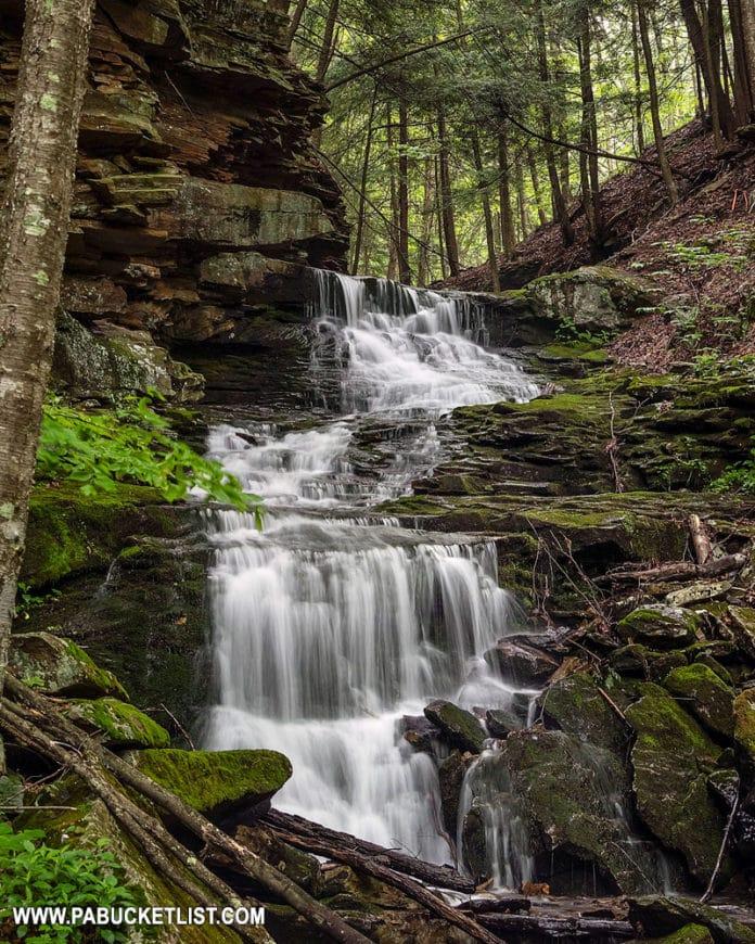 Alpine Falls in Sullivan County.