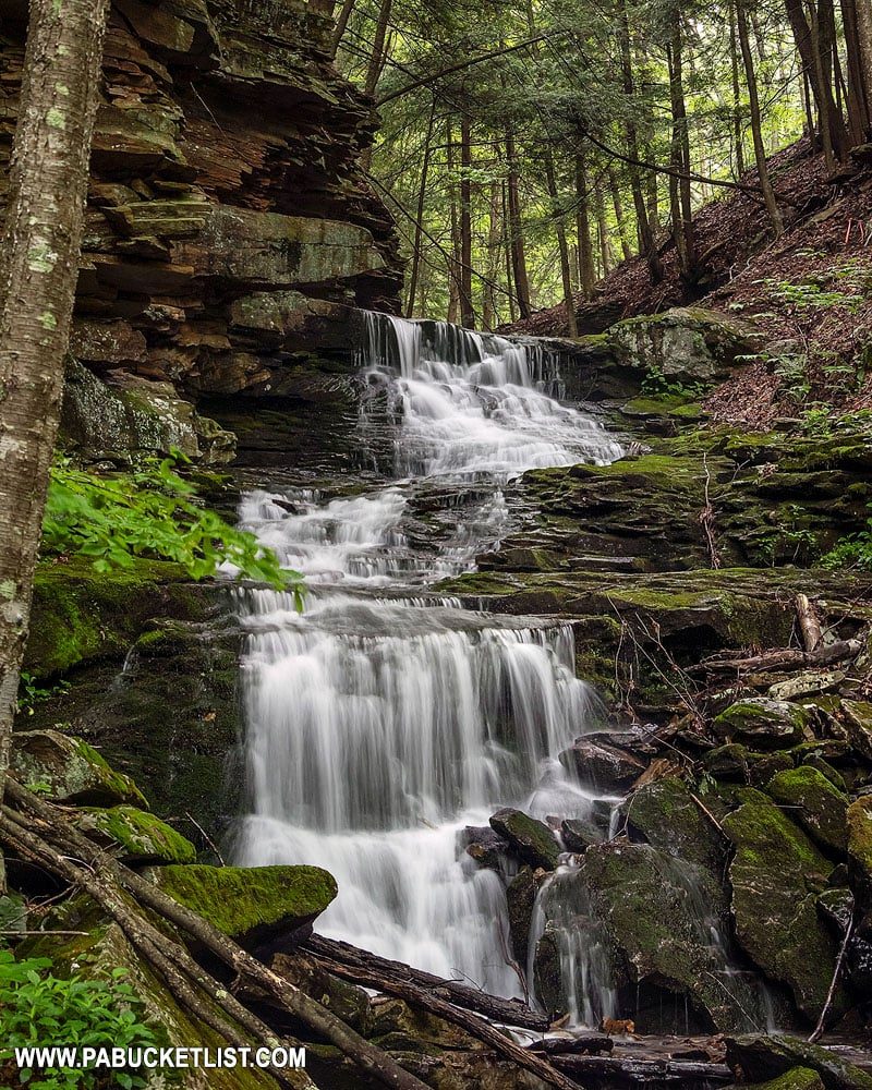 Alpine Falls in Sullivan County.
