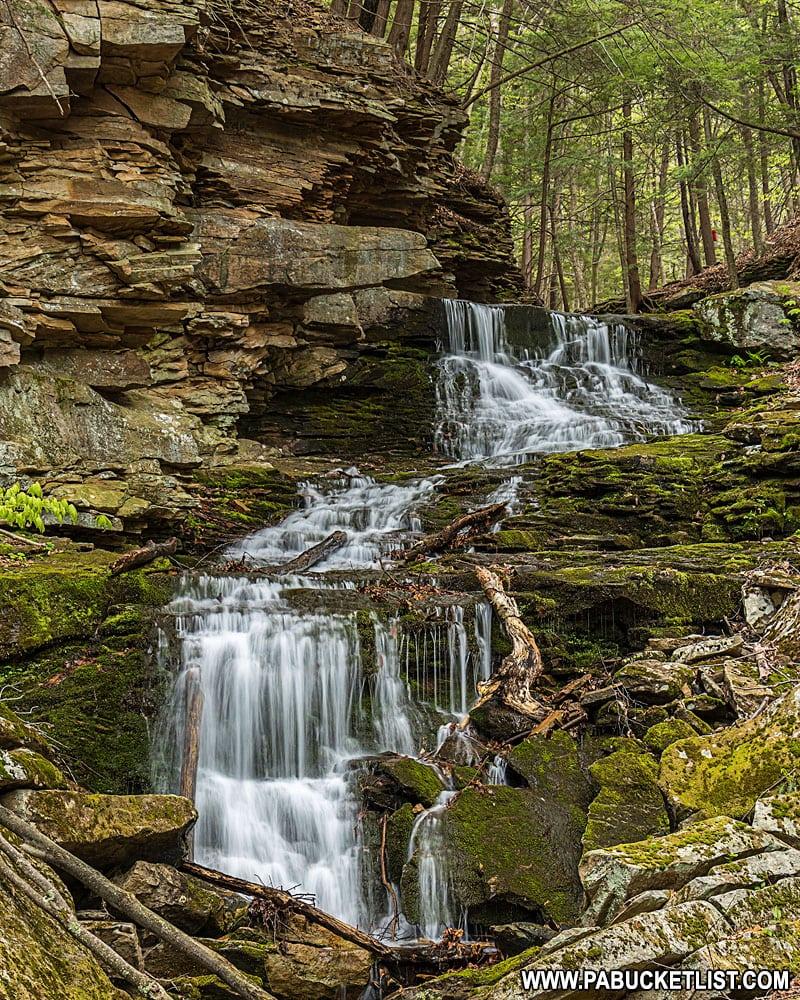 Alpine Falls along the Loyalsock Trail.