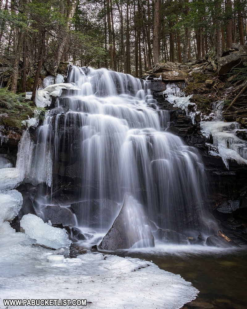 Dutchman Falls in Sullivan County.