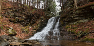 East Branch Falls on Mill Creek in the Loyalsock State Forest