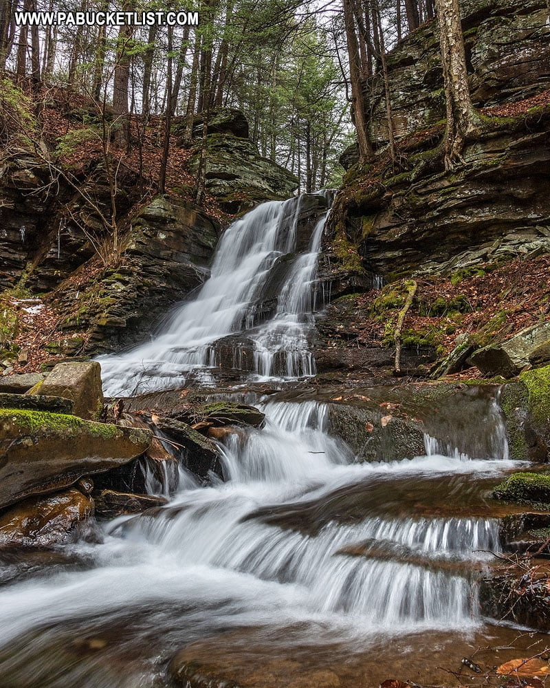 East Branch Falls in the Loyalsock State Forest