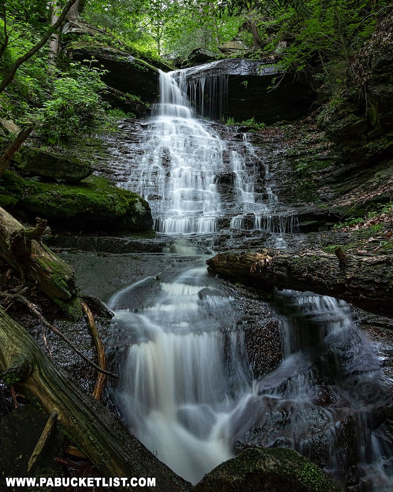 High Rock Falls at Worlds End State Park