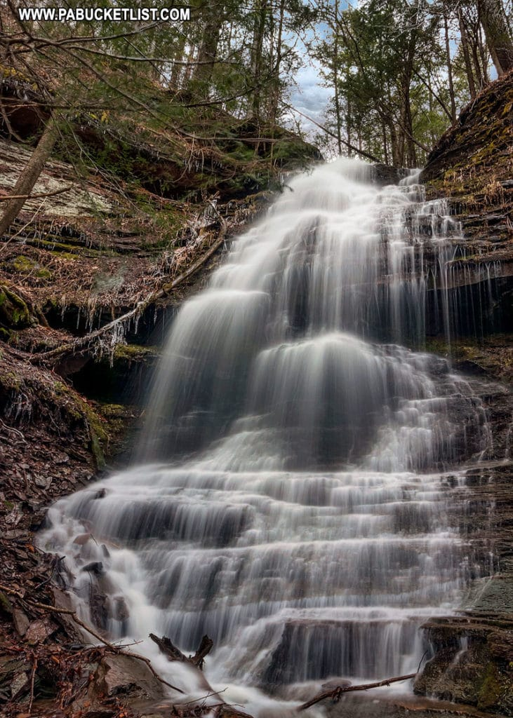 Rexford Branch Falls in the Pine Creek Gorge Natural Area.