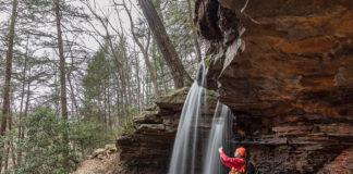 Adams Falls in Westmoreland County Pennsylvania