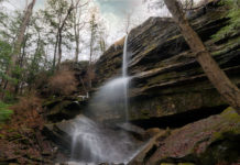 Alpha Falls at McConnells Mill in Lawrence County Pennsylvania