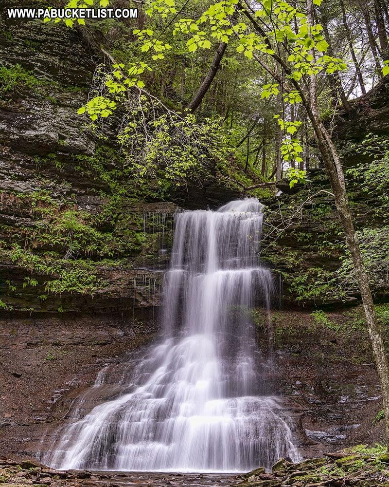 Amphitheater Falls in Tioga County