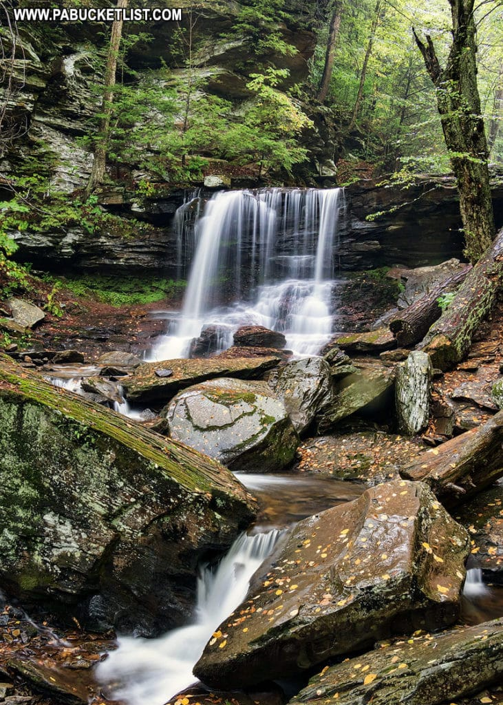 B. Reynolds Falls at Ricketts Glen State Park