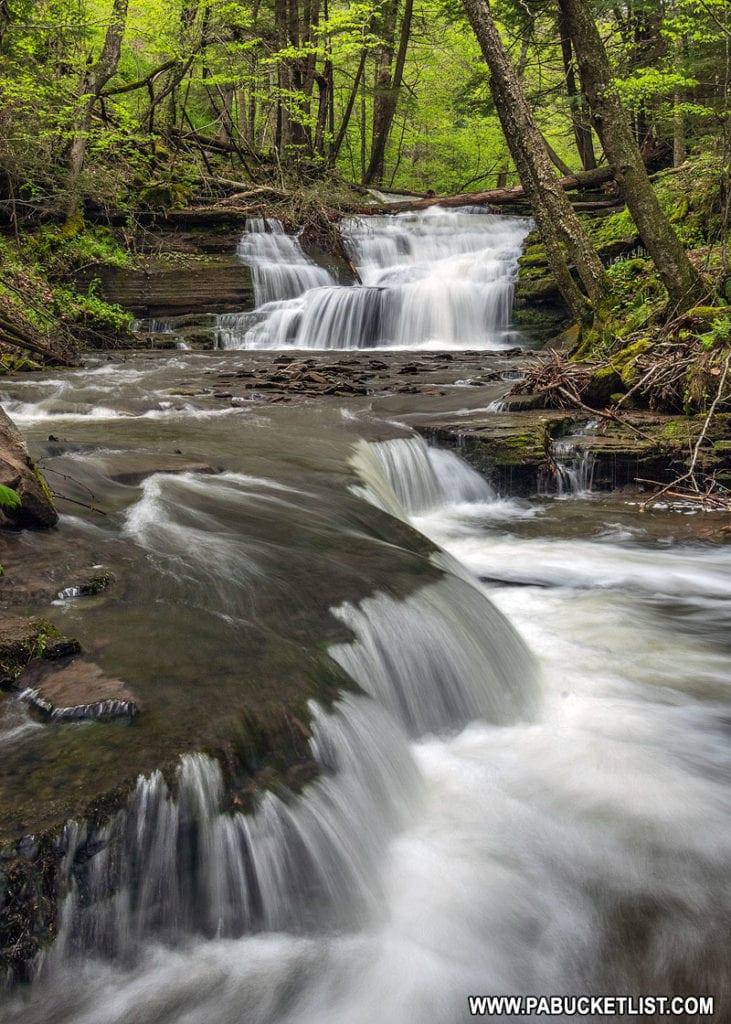 Darling Run Falls near the Pine Creek Rail Trail