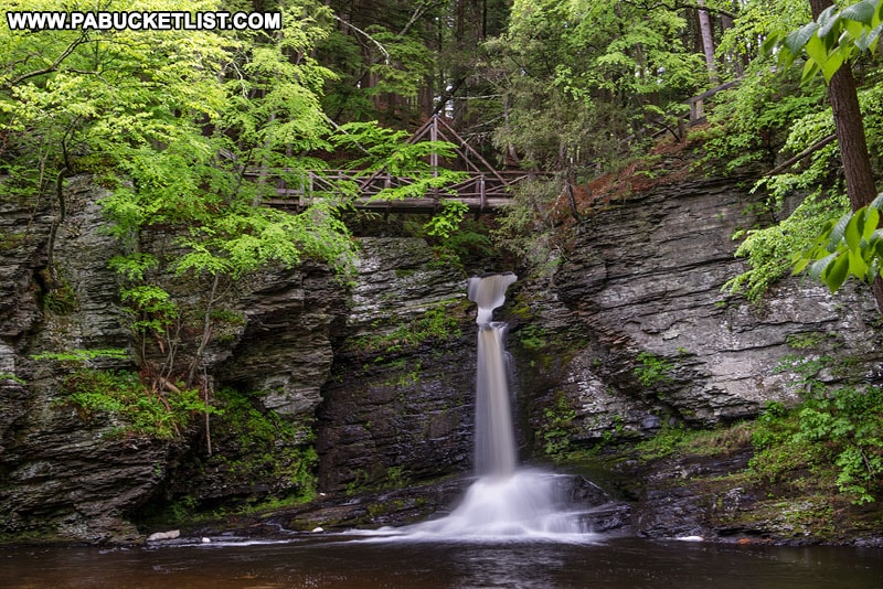 How to find Deer Leap Falls in the Delaware Water Gap