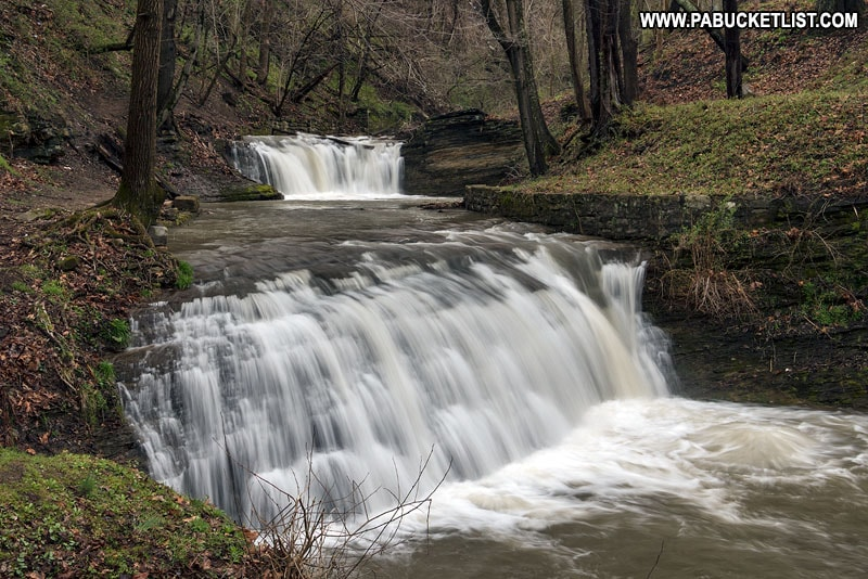 East Park Falls Connellsville, Fayette County