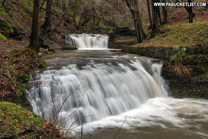 East Park Falls Connellsville PA Fayette County
