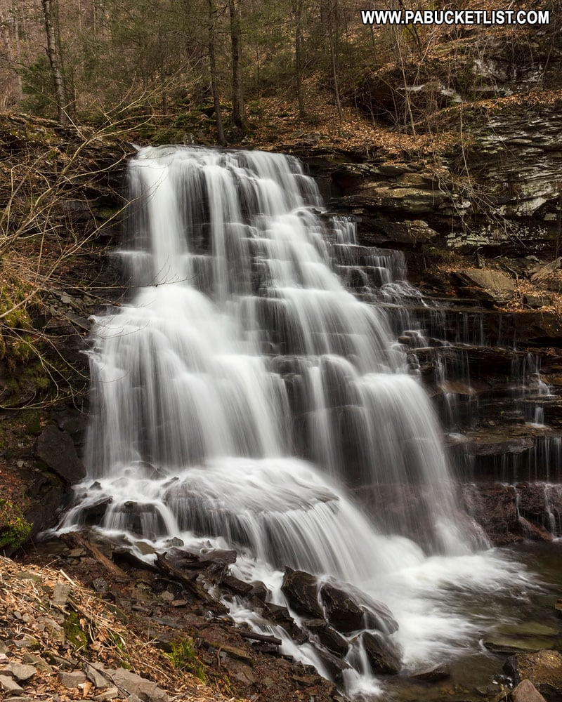 Erie Falls at Ricketts Glen State Park.