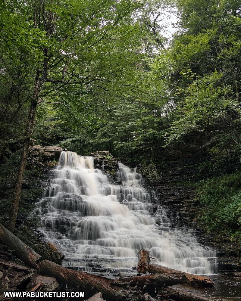 F.L. Ricketts Falls at Ricketts Glen State Park