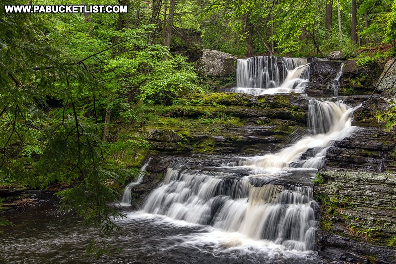 Exploring The Waterfalls At Childs Park In Pike County
