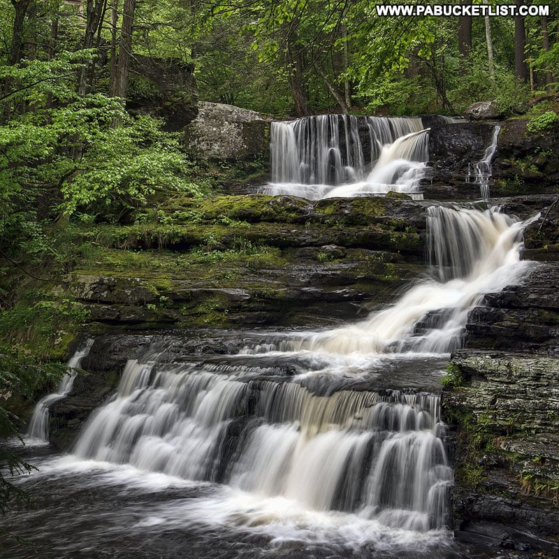 How to find Factory Falls in the Delaware Water Gap