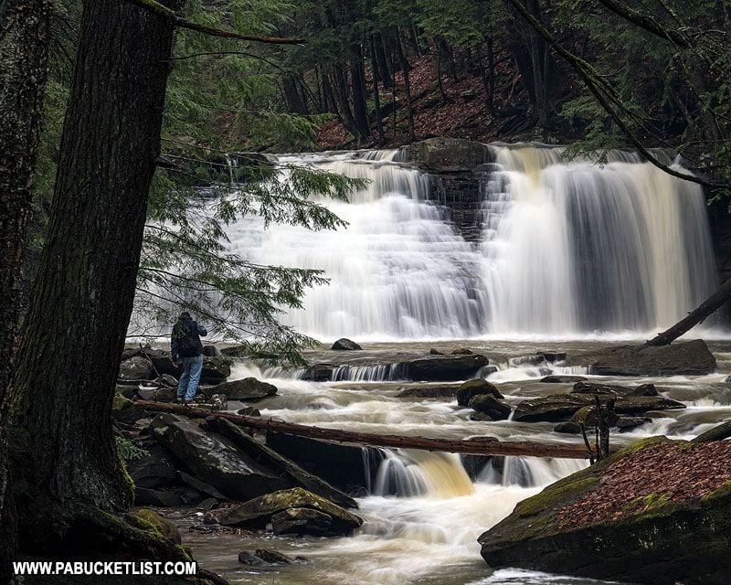 Freedom Falls near Kennerdell in Venango County Pennsylvania