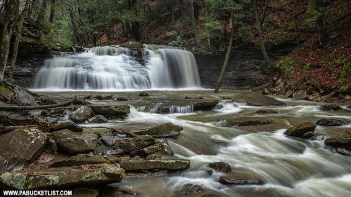 Freedom Falls in Venango County PA