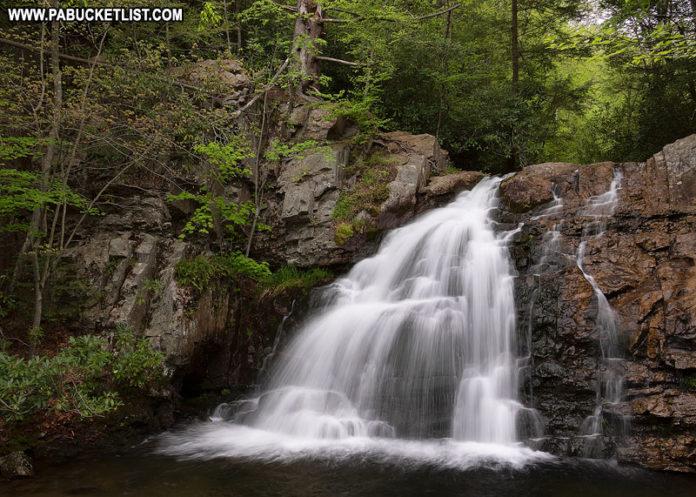 Hawk Falls Pennsylvania Hickory Run State Park