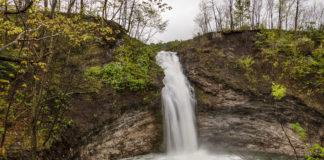 Hinckston Run Falls in PA