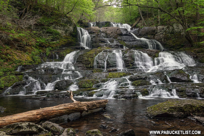 Indian Ladder Falls in the Delaware Water Gap.