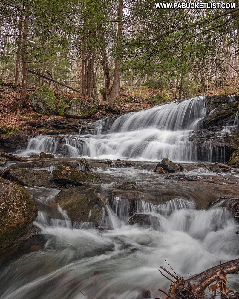 Logan Falls in Forest County PA