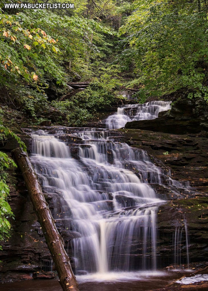 Mohican Falls at Ricketts Glen State Park