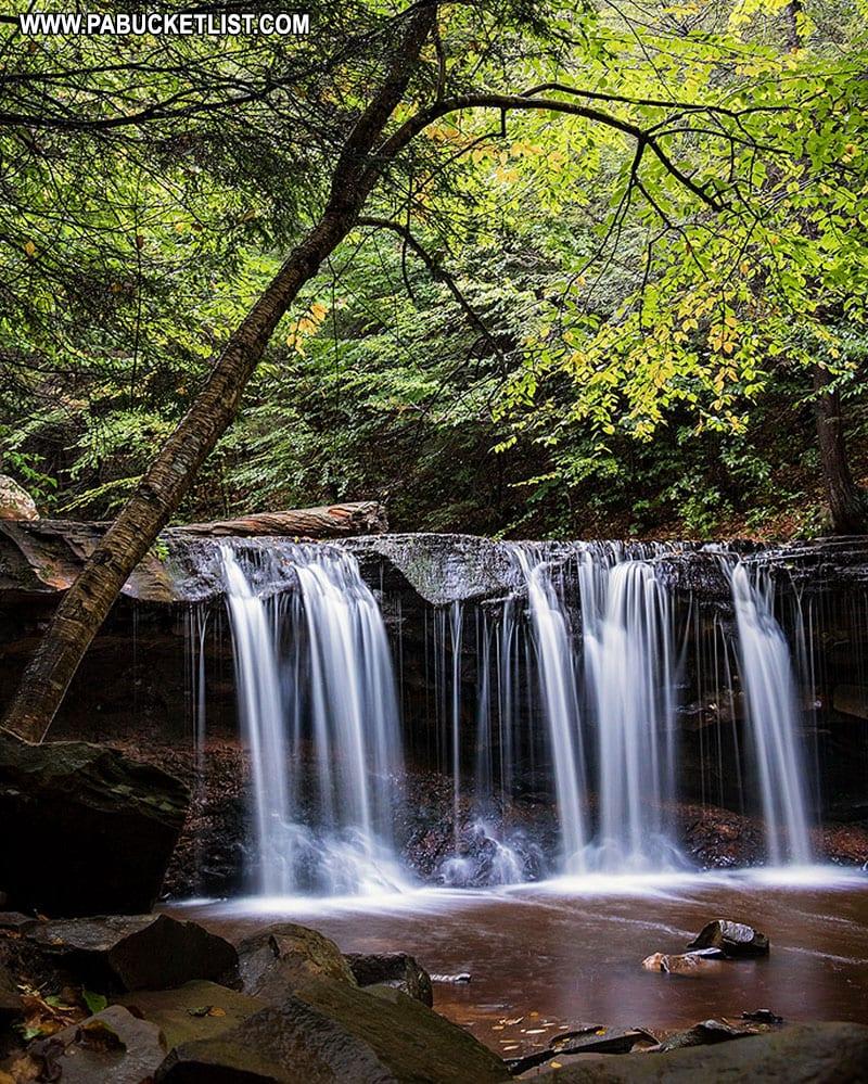 Oneida Falls at Ricketts Glen State Park.