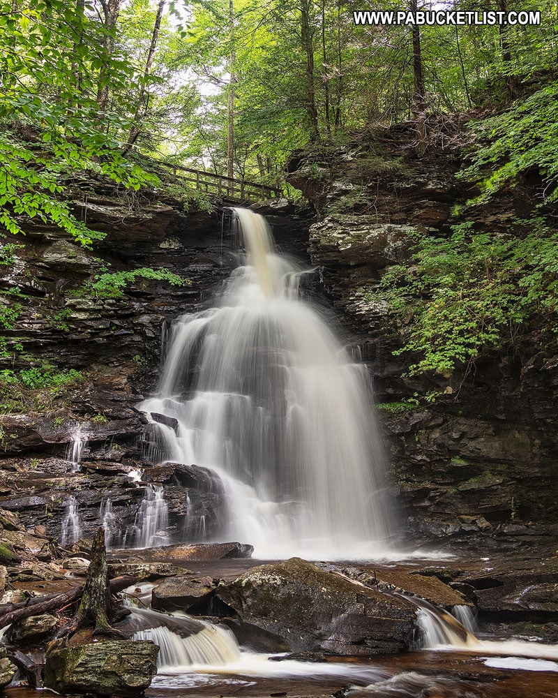 Ozone Falls at Ricketts Glen State Park