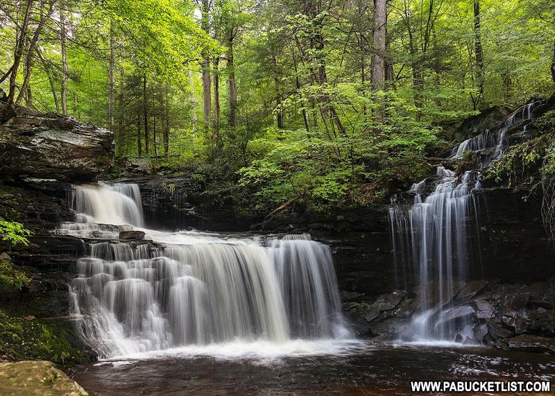 R.B. Ricketts Falls at Ricketts Glen State Park