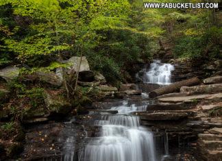 Rainbow Falls Pennsylvania Huntingdon County