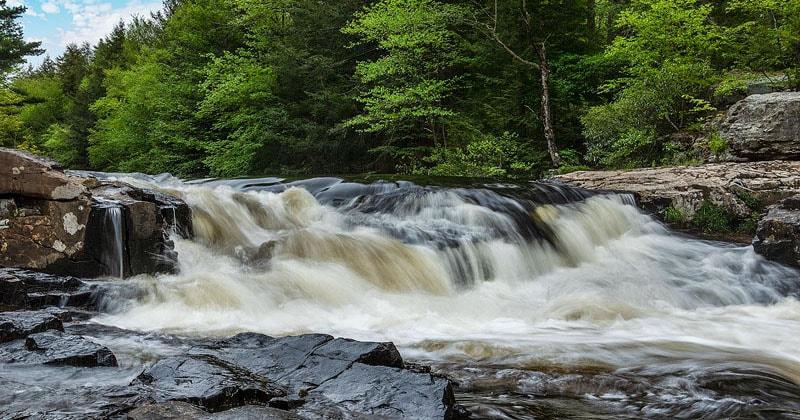 Tobyhanna Falls Pennsylvania