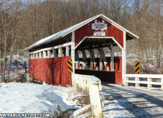 Glessner Covered Bridge Pennsylvania