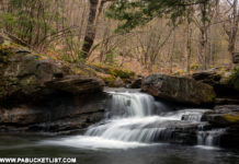 Lick Creek Falls in Tioga County PA