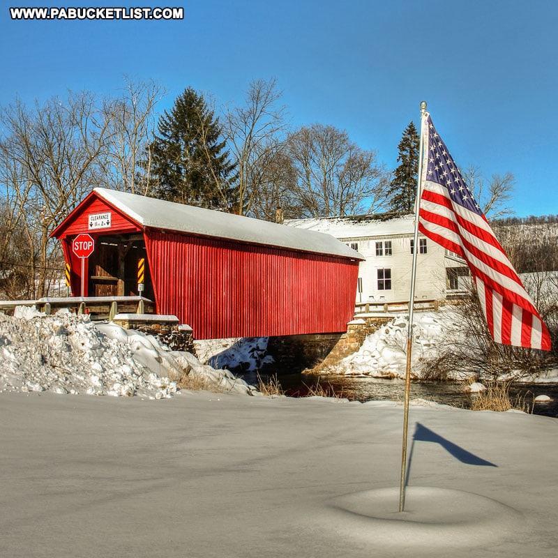 Logan Mills Bridge Clinton County Pennsylvania