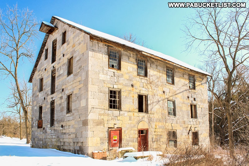 Logan Mills Gristmill in Logan Mills Pennsylvania