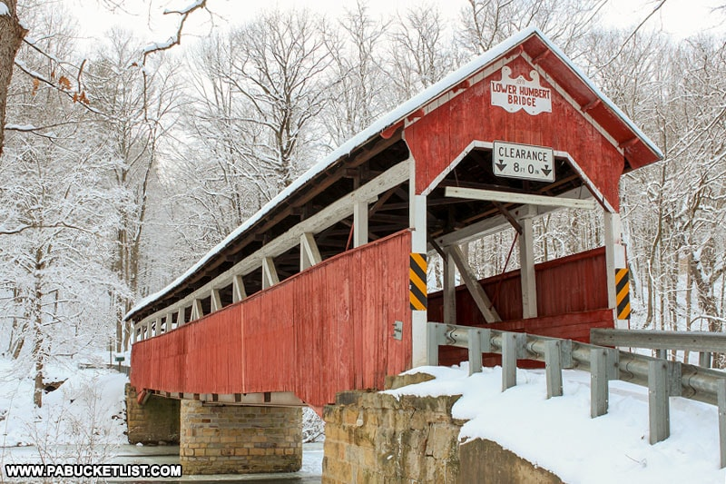 Lower Humbert Covered Bridge near Confluence PA