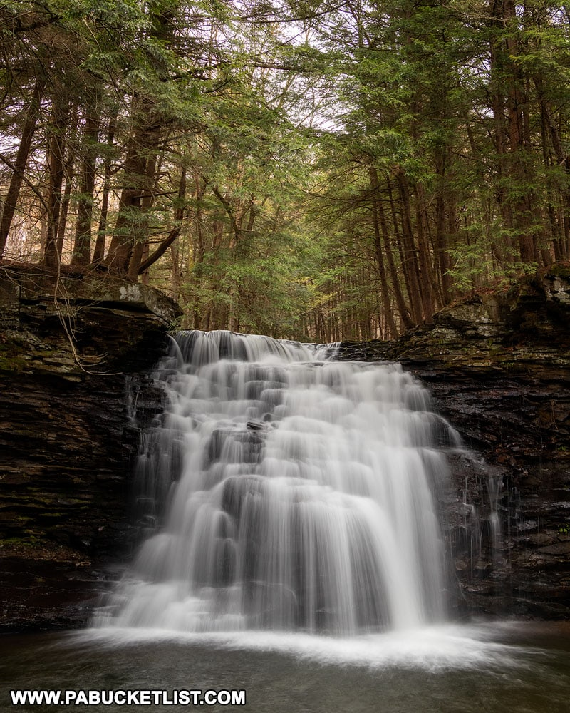 Sand Run Falls near Arnot Pennsylvania
