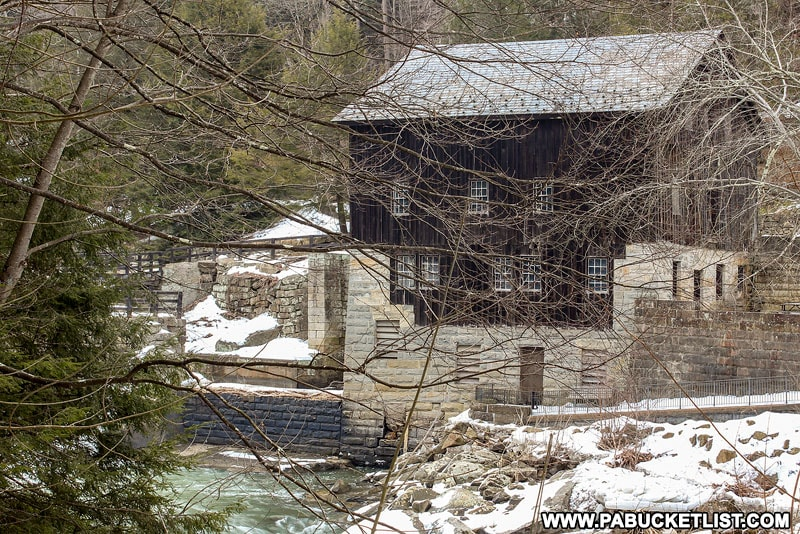 McConnells Mill in Lawrence County Pennsylvania.
