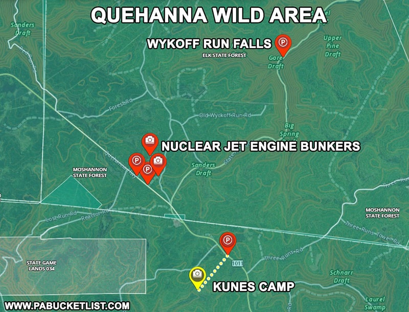 How to find Kunes Camp in the Quehanna Wild Area