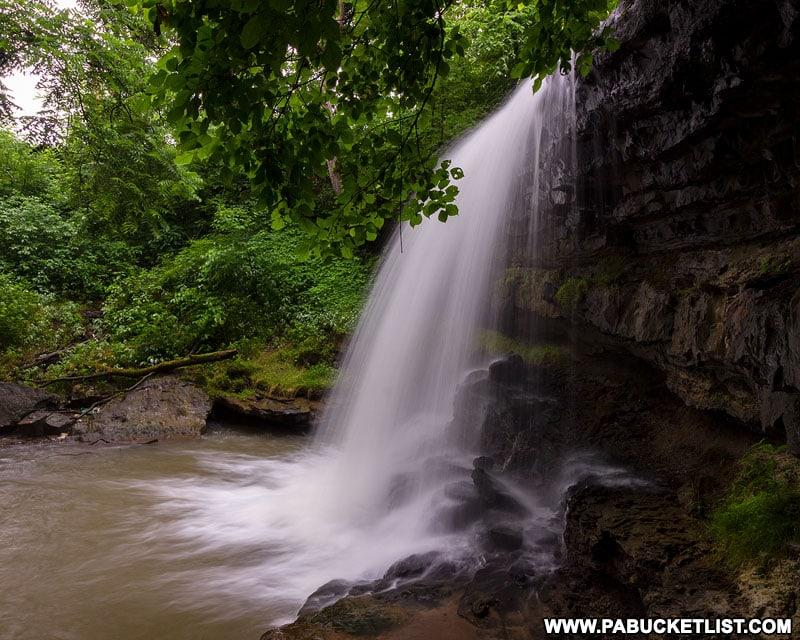 Robinson Falls in Fayette County PA