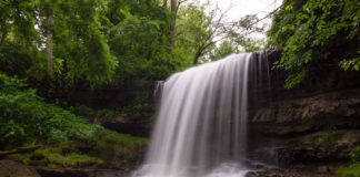Robinson Falls in Fayette County Pennsylvania