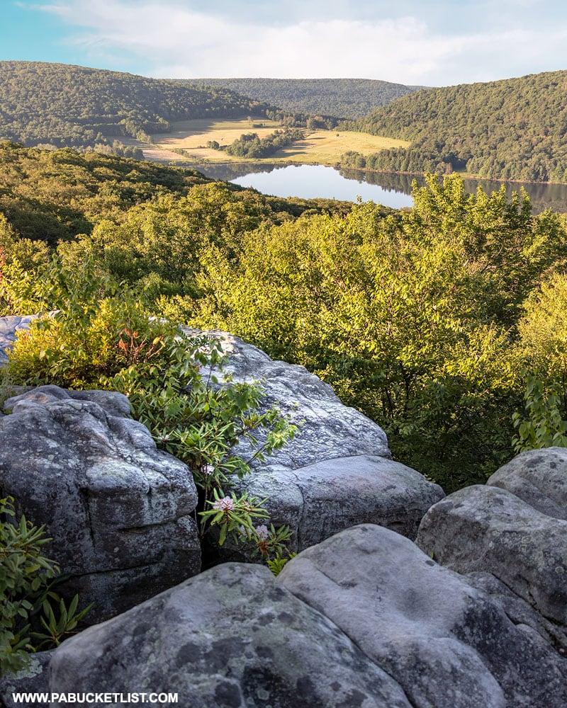 Camp Buckey Overlook on Mount Davis in the Laurel Highlands.