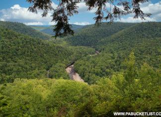 Loyalsock Canyon Vista Sullivan County Pennsylvania