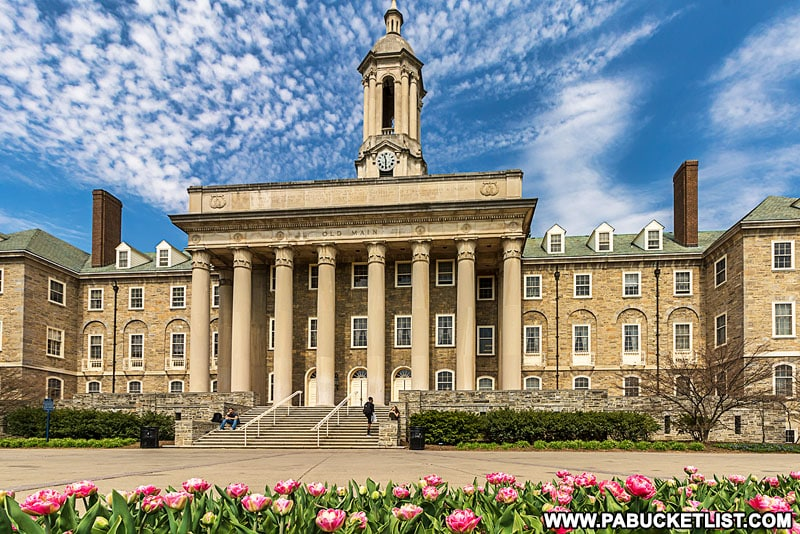 Old Main at Penn State University