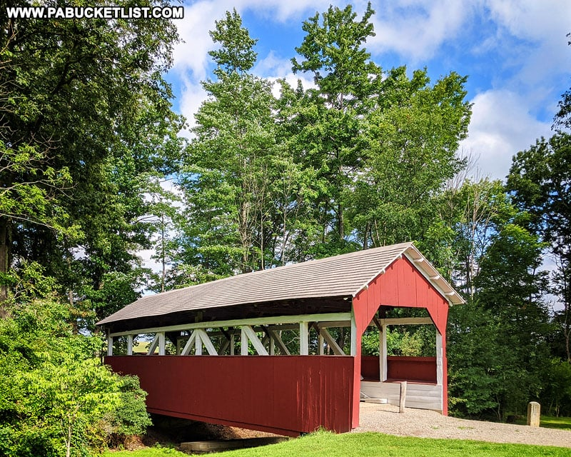 Walters Mill Covered Bridge in Somerset County Pennsylvania.