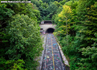 The Abandoned PA Turnpike Pike 2 Bike Trail